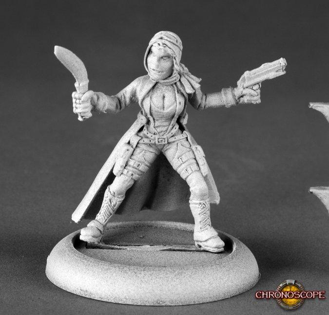 Mira, Post-Apocalyptic Heroine
