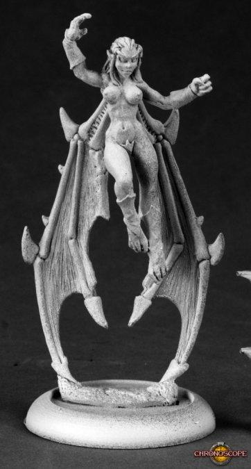 The Harpy, Female Super Villain