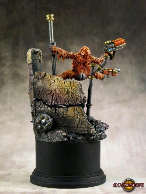 Orangutango, Cyber-Ape