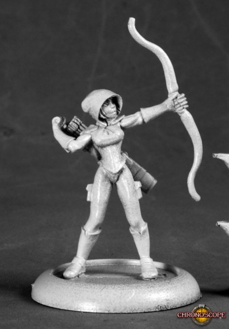 Silver Marksman, Super Heroine