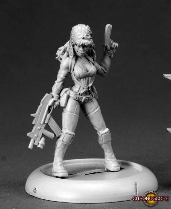 Farrah, Sci Fi Heroine