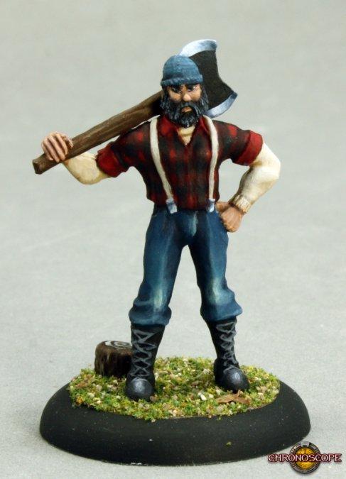 Bill Foster, Lumberjack