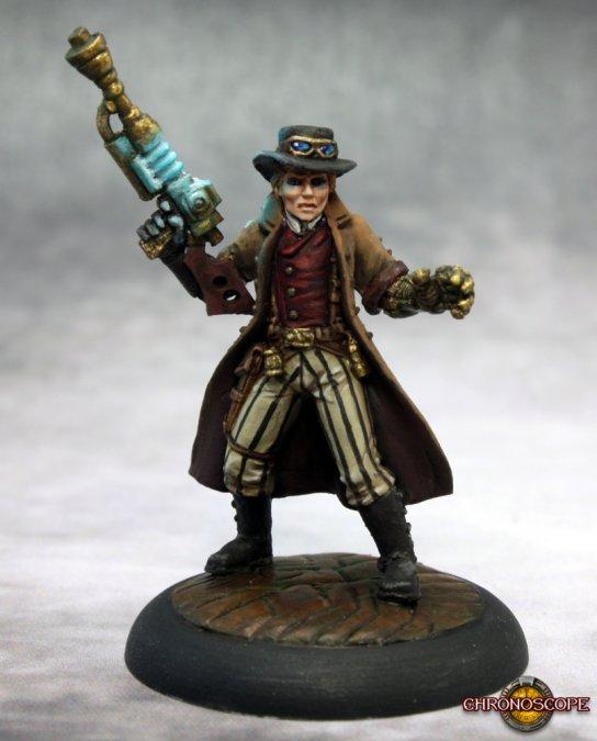 Dr Charles Bennet, Steampunk Hero