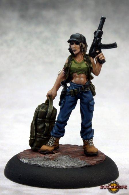 Evie, Post-Apocalyptic Heroine