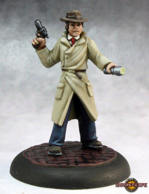 Max Graves, Pulp Era Investigator