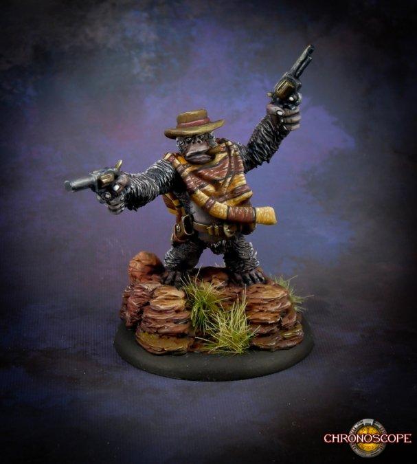 Cactus Joe, Gorilla Gunslinger