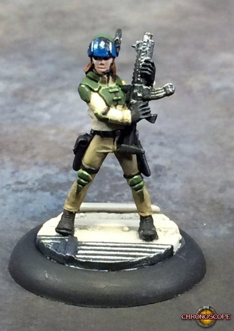 Tess McFadden, Mercenary