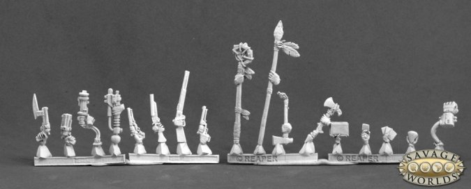 Deadlands Weapons & Accessories