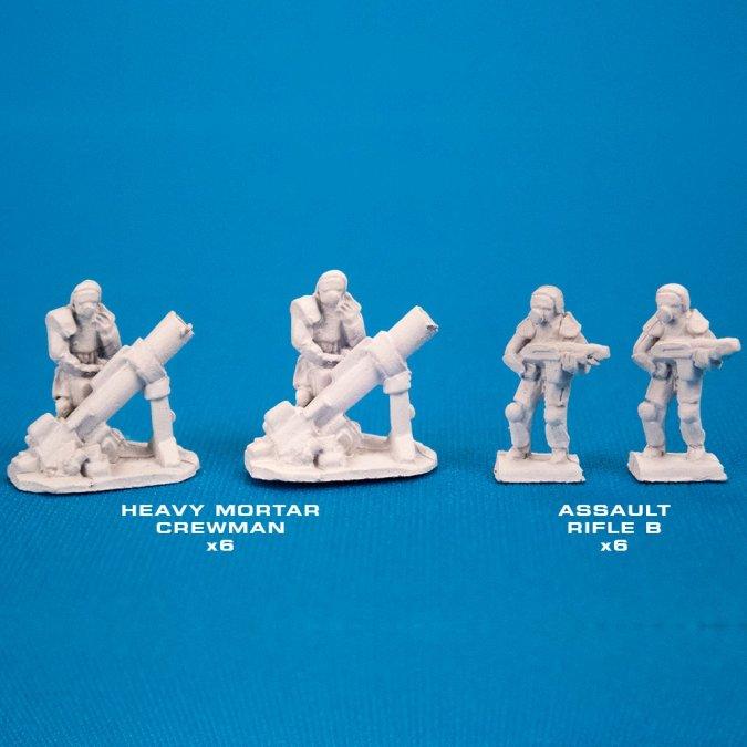 Infantry, Light (Hvy Mortar)