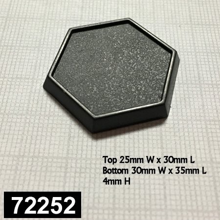 1 Inch Hex Gaming Base (20)
