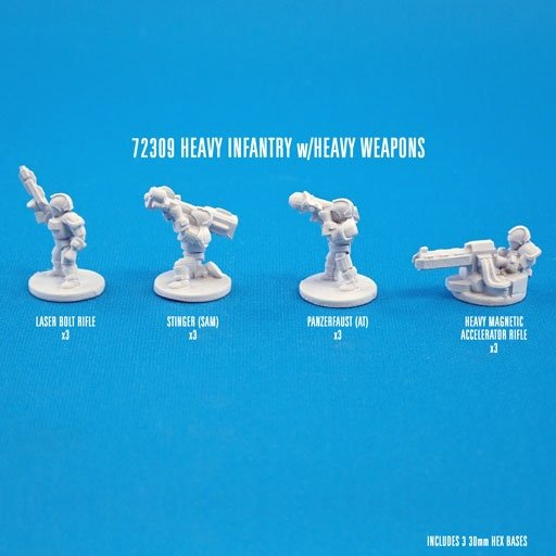 HEAVY INFANTRY w/HVY WEAPONS