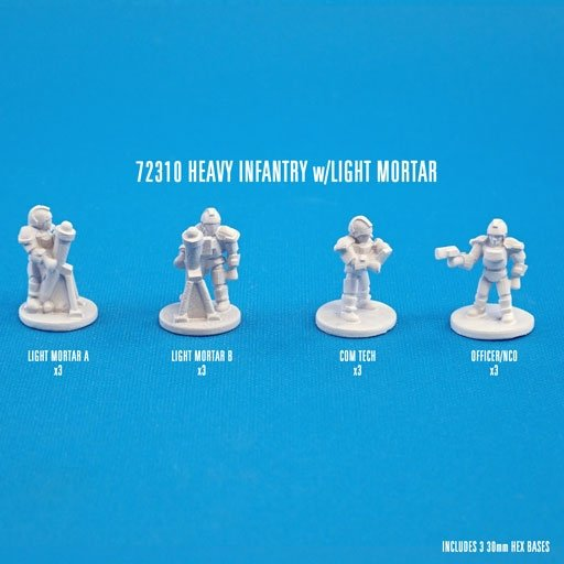 HEAVY INFANTRY w/LIGHT MORTARS