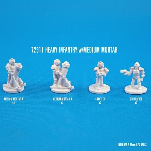 HEAVY INFANTRY w/MED MORTARS