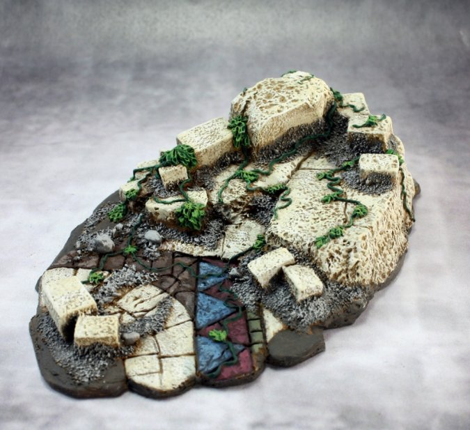 Ruins Vignette Base (resin base)