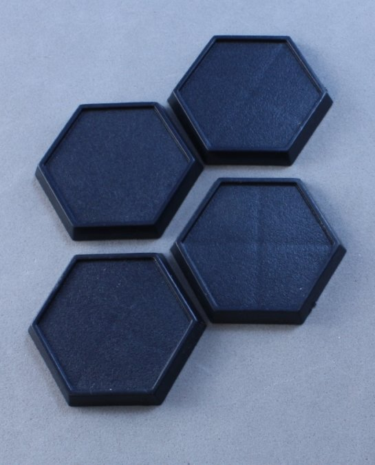 1inch Hex Plastic Gaming Base (20)