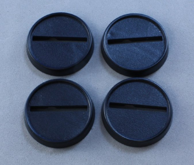 "1"" Round Plastic Gaming Base (20)"