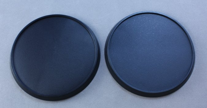 60mm Round Plastic Gaming Base (10)