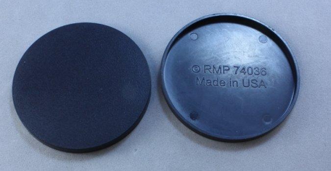 "2"" Round Plastic RPG Base (10)"