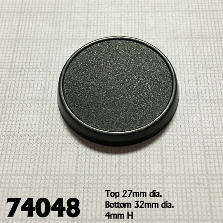 32mm Round Gaming Base (10)