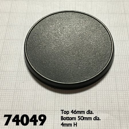 50mm Round Gaming Base (10)
