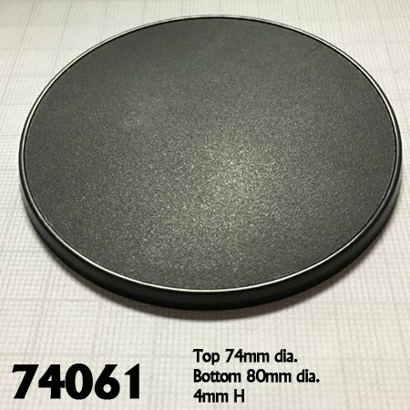 80mm Round Gaming Base (4)
