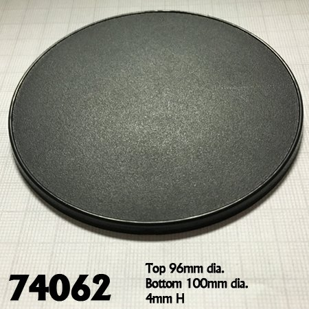 100mm Round Gaming Base (4)
