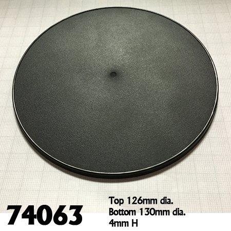130mm Round Gaming Base (4)
