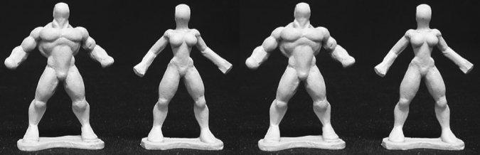 Heroic Sculpting Armatures