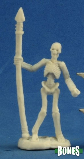 Skeleton Warrior Spearman (3)