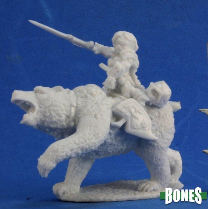 Ursula, Dwarven Bear Rider