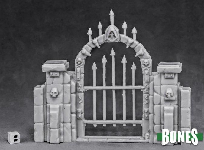 Graveyard Fence Gate