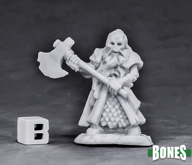 Undead Dwarf Fighter