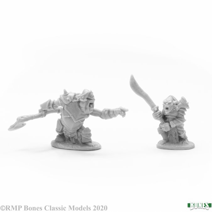 Armored Goblin Leaders (2)