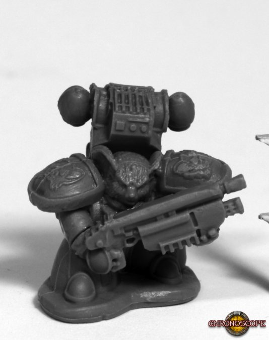 Space Mousling Gun Raised