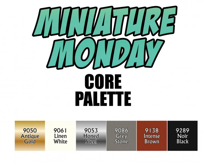 Miniature Monday: Core Palette Set Q1 2020
