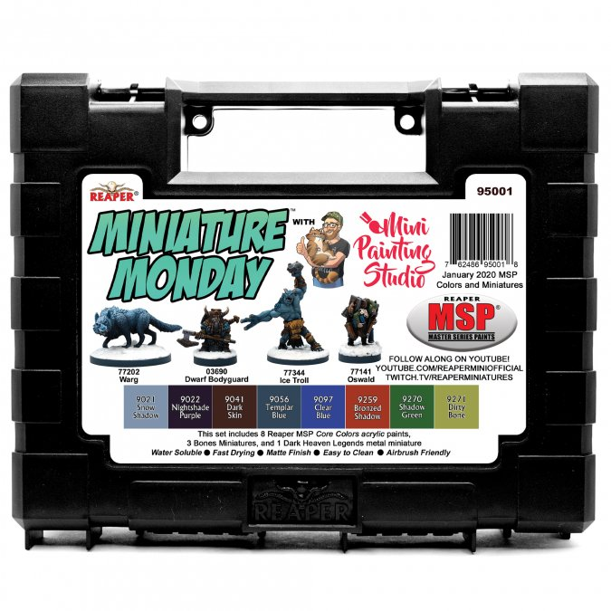 Miniature Monday: January 2020 Set