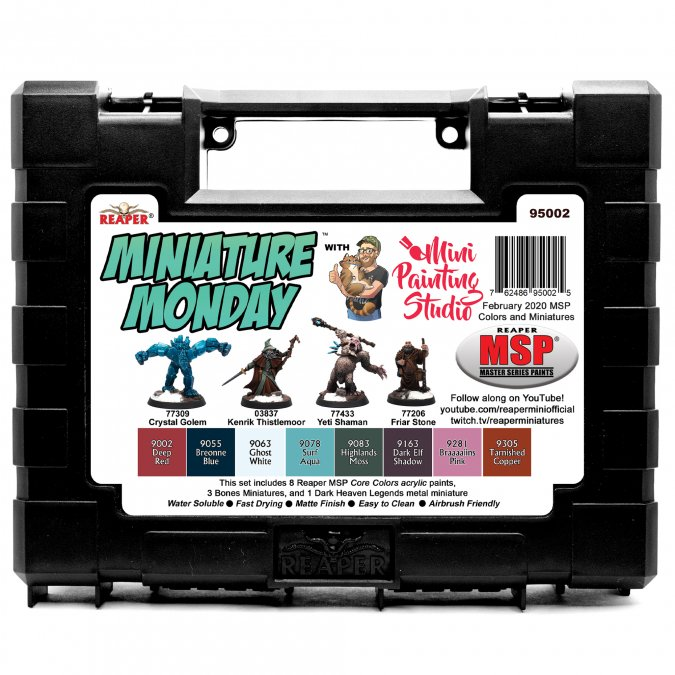 Miniature Monday: February 2020 Set