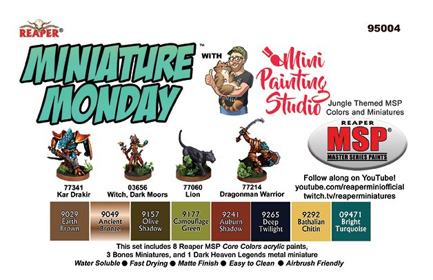 Miniature Monday: April 2020 Set