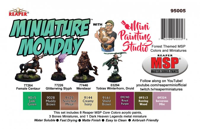 Miniature Monday: May 2020 Set
