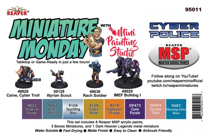 Miniature Monday: Cyber Police