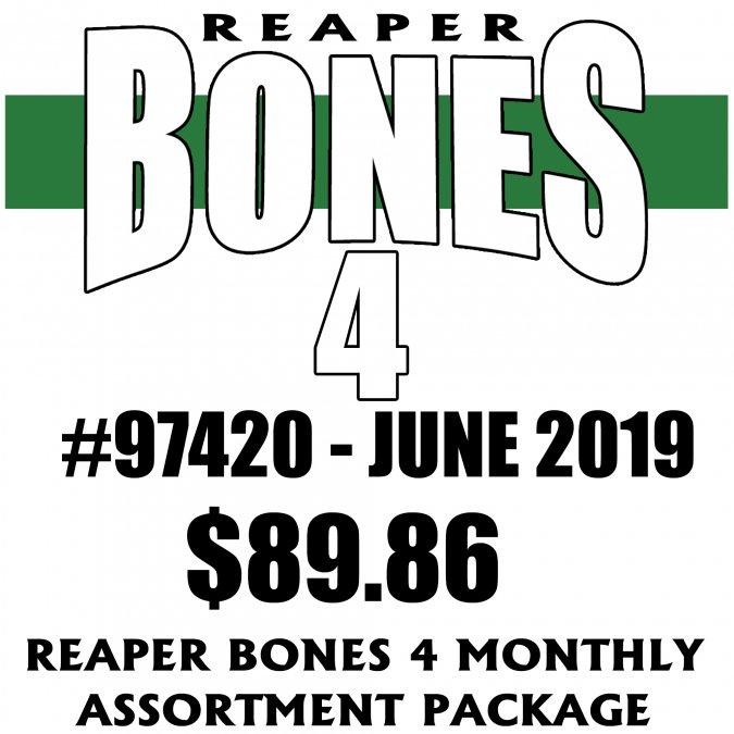 Reaper Bones 4 Monthly Assortment - June 2019