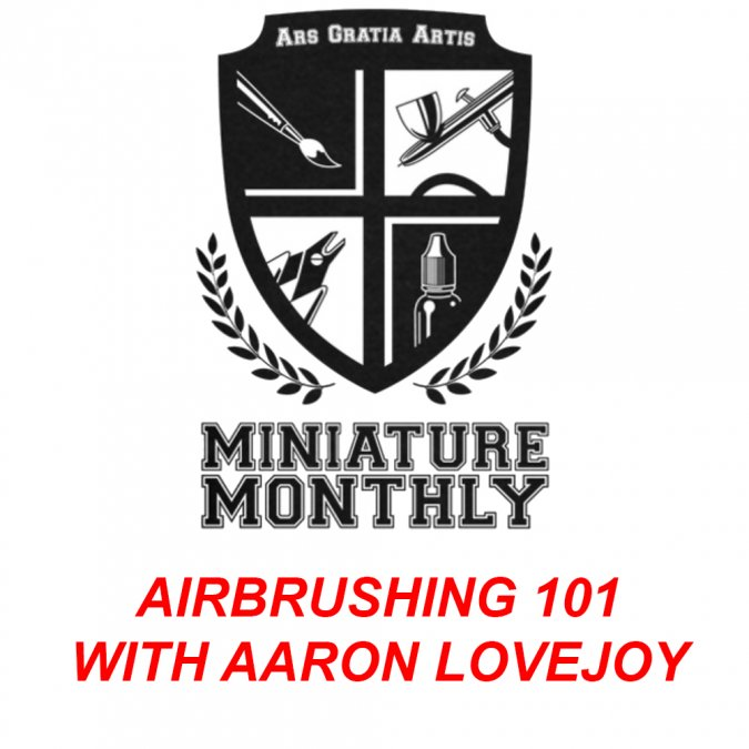 Aaron Lovejoy Airbrush 101 Class Kit