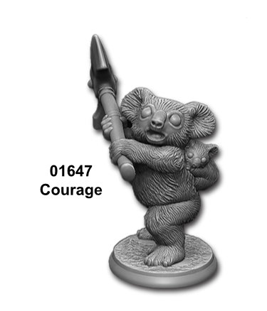 courage figure