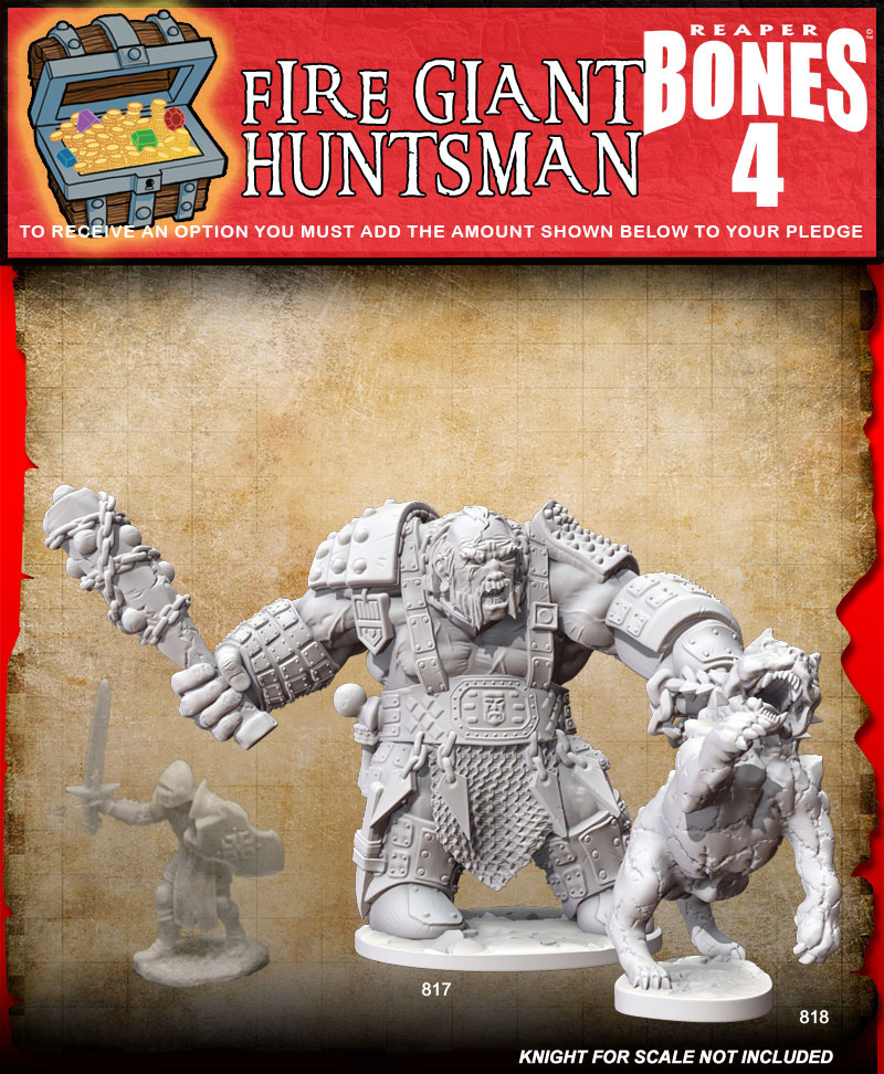 Fire Giant Huntsman