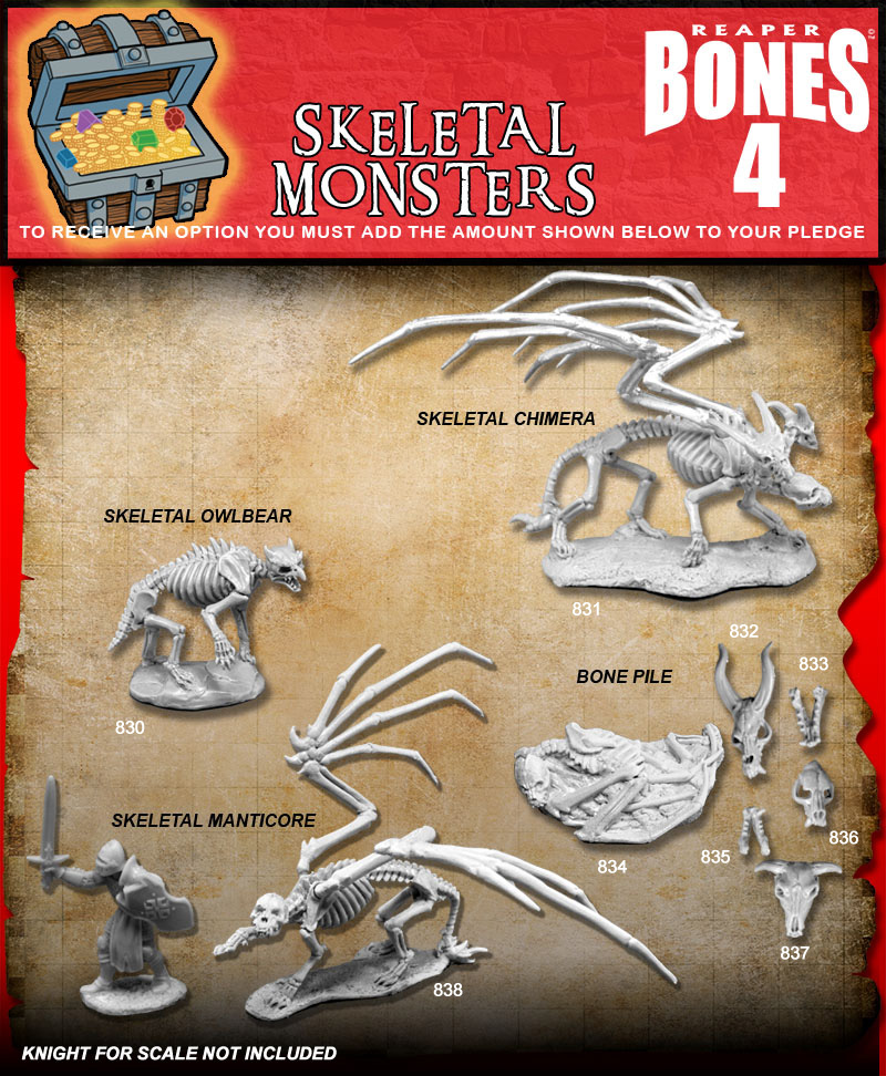 Skeletal Monsters