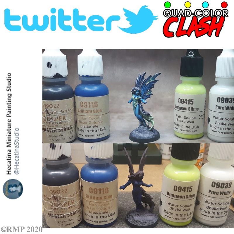 Hecatina miniature paintning